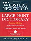 img - for Webster's New World Large Print Dictionary book / textbook / text book