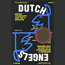 VocabuLearn: Dutch, Level 1 Audiobook by  Penton Overseas, Inc.