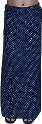 SRS Men's Cotton Lungi (131_2, Blue, 2 mtr)