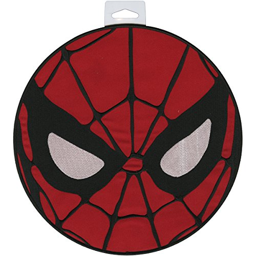 Application Marvel Comics Retro Spiderman Mask Back Patch