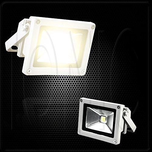 10W 12V Led Flood Light Day Trailer Rv Camper Outdoor Lamp - Warm White Light