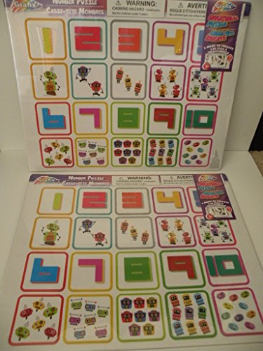 2 Learning Puzzles/ Teaches the Alphabet with pictures and Teaches Shapes