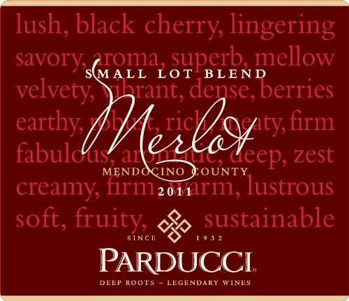 Parducci Wine Cellars 2011 Parducci Small Lot Blend Merlot Mendocino County 750 mL