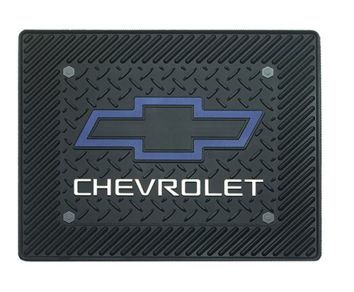 cheap floor mats  chevy blue bowtie utility mat 14 u0026quot