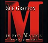 M Is for Malice (Kinsey Millhone Mysteries) Sue Grafton