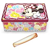 ミニーマウス 缶入り ロールクッキー お菓子【東京ディズニーリゾート限定】