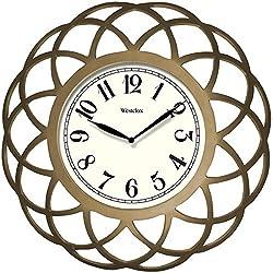 Westclox 14 Inch Spiral Wall Clock
