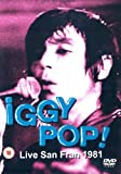 Iggy Pop: Live In San Francisco [DVD]