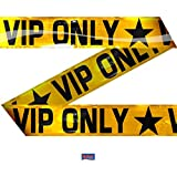 VIP ONLY Absperrband Gold, 15m