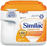 Similac Sensitive Infant Formula, with Iron, Powder, 1.41 lb.