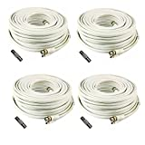 (4) 200 Foot Security Camera Cable for Samsung SDS-P5122, SDS-P5102