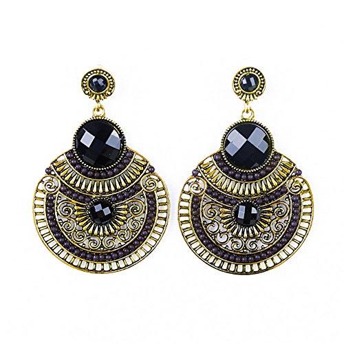 2016-women-retro-bohemia-black-circular-big-drop-earrings