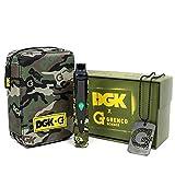 サーモスタット式 DGK G Pro Herbal Vaporizer (Gペンハーバルヴェポライザー)【電子タバコ/葉タバコ専用】 キャリーポーチ付き (DGKポーチセット) [並行輸入品]