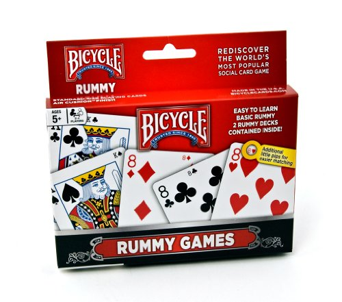 Bicycle Rummy Games Playing Cards