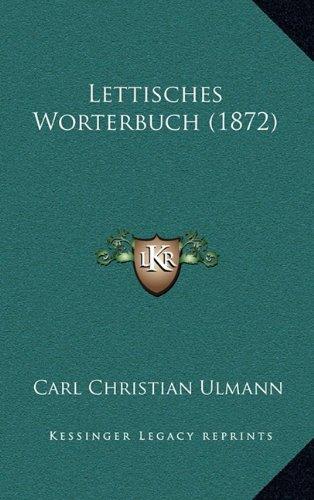 Lettisches Worterbuch (1872)