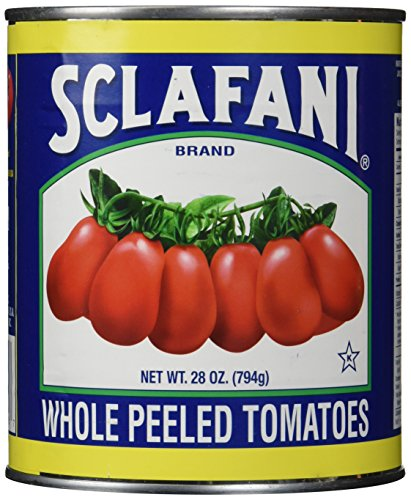 Sclafani Whole Peeled Tomatoes, 28 Ounce (Pack of 12) (Canned Italian Tomatoes compare prices)