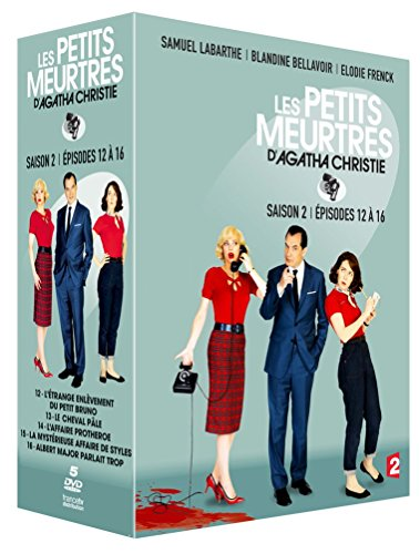 Les Petits meurtres d'Agatha Christie - Saison 2 - Épisodes 12 à 16 [Francia] [DVD]