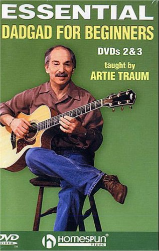 Artie Traum - Essential DADGAD For Beginners DVD - Vols. 2 And 3