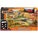 Matchbox Mission Board: Chopper Rescue on a Mission Playset - MBX Heroic Rescue