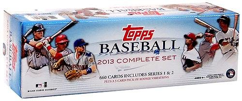 Topps MLB 2013 Factory Trading Card Set