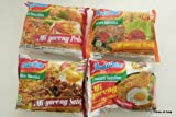 4 Types of Indo Mie Instant Fried Noodle Mi Goreng 80g (4 packs)