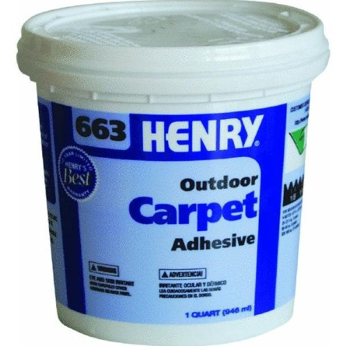 Henry, W.W. Co. FP00663034 Premium Outdoor Carpet Adhesive