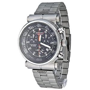 Formex 4 Speed - 15002.3021 - Montre Homme - Quartz Chronographe - Chronomètre - Bracelet Acier Inoxydable Argent