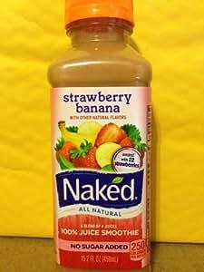 Naked Pure Fruit Berry Blast Juice Smoothie (15.2 fl oz