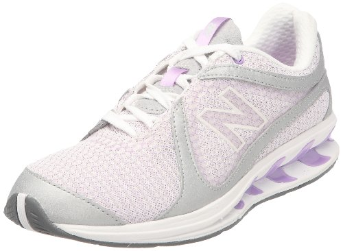 New Balance Women's WW855PL Purple/Silver Trainer 5 UK, 37.5 EU, 7 US B