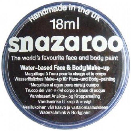 18ml Face And Body Paint - Black, Black, Snazaroo Cosmetics, Halloween, , Unisex By Smiffy's