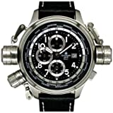 [エアロマチック1912]aeromatic1912 腕時計 ドイツ製GMTワールドタイム・アラーム付・ウォッチクロノグラフ A1328 メンズ 【並行輸入品】