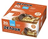 Detour Deluxe Whey Protein Energy Bar, Low Sugar, Caramel Pe
