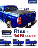 Tyger Auto TG-BC3T1033 Tri-Fold Pickup Tonneau Cover (Fits 07-13 Toyota Tundra (with/without utility track) 6.5 feet (78 inch))