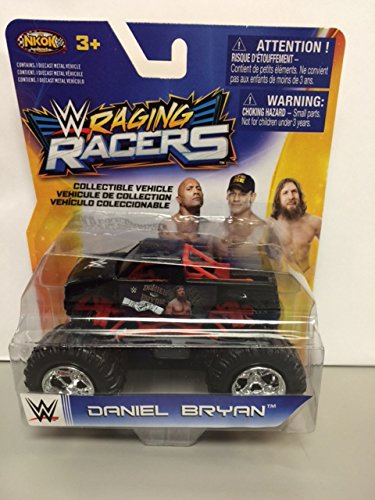 NKOK 1:64 WWE RAGING RACERS MONSTER TRUCK DANIEL BRYAN rare hard to find collectible vehicle