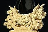 ★神具■ 限定品 厚口 ■ 特大 極上龍彫神鏡 ■ 本鏡使用 神棚用 神鏡 龍彫り 龍神