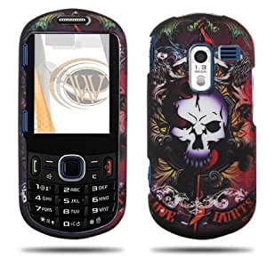 Love Hurts Design Protector Case Cover for Samsung Messager III / R570