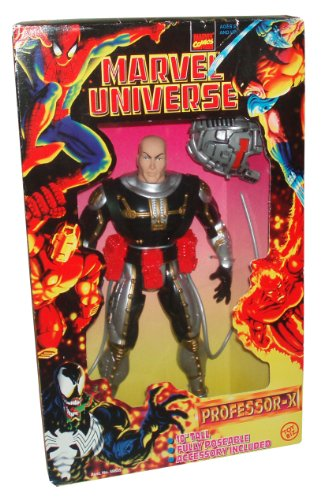 Buy Low Price Toy Biz Marvel Comics Year 1997 Marvel Universe Series 10 Inch Tall Fully Poseable Action Figure : PROFESSOR-X with Cerebro (B003NQCITE)