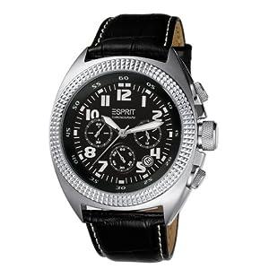 51NKnzUBnpL. SL500 AA300  [Amazon] Esprit Herren Armbanduhr MOMENTUM BLACK A.ES900491001 für 70,99€ (Vergleich: 92€)