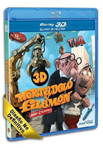 Mortadelo Y Filemón Contra Jimmy El Cachondo (BD 3D + BD 2D + Copia Digital) [Blu-ray]