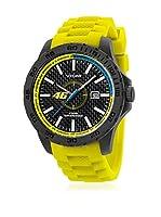 VR46 Valentino Rossi VR1 by TW Steel Reloj con movimiento Miyota Vr2 Amarillo 45  mm