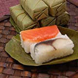 柿の葉寿司 さば・さけ2種類の折箱(10個入)