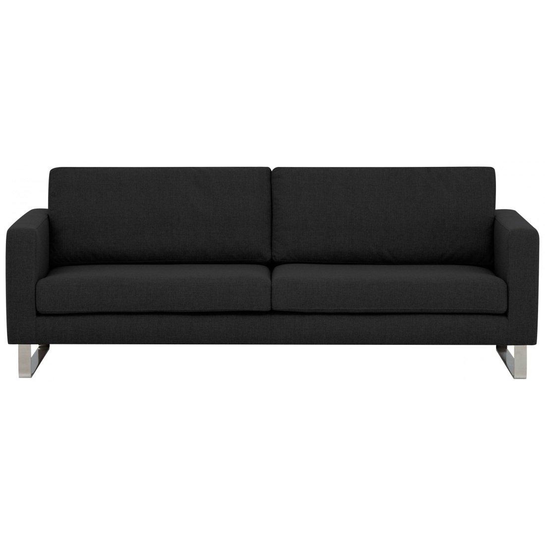 3-Sitzer Sofa Dunkelgrau Designer Couch Sofa online bestellen
