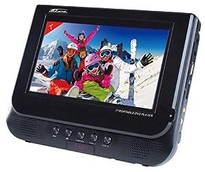 takara div147 lecteur dvd portable usb sd noir lecteurs mp3 casques. Black Bedroom Furniture Sets. Home Design Ideas