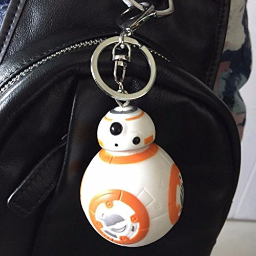 New Star Wars Action Figures BB-8 Droid Robot Keychain Pendant Toy Gift (Robotic Mech Suit compare prices)