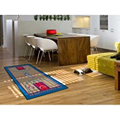 Los Angeles Clippers 29.5x54 Nba Large Court Runner NBA Large Court Runner Carpet Rug... by Fanmats