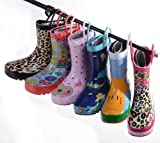 Multi Printed Colorful KIDS Rubber Rain Boots