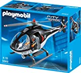 Toy - PLAYMOBIL 5563 - SEK-Helikopter