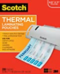 Scotch Thermal Pouches 8.9 x 11.4 Inc...