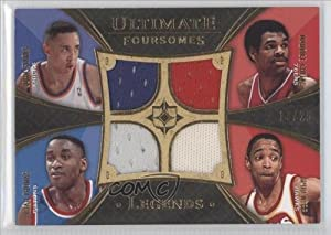 Maurice Cheeks Spud Webb John Starks Isiah Thomas #13 25 Atlanta Hawks, Detroit... by Ultimate Collection