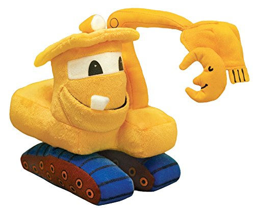 Merry Makers Goodnight, Goodnight, Construction Site Plush Doll, 11-Inch